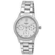 Casio Enticer Analog White Dial Womens Watch - LTP-E306D-7AVDF (A999)