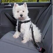 Регулируем предпазен нагръдник за куче в автомобил Karlie, размер M