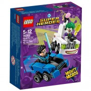 Set de constructie LEGO DC Super Heroes Mighty Micros Nightwing Contra The Joker