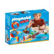 Playmobil 9328 - Play Map - Il Tesoro Dei Pirati