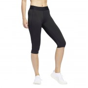 Adidas Performance Leggings curtas de desporto AlphaskinPreto- L