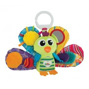 Tomy Lamaze Play and Grow Jacques the Peacock Take Along Toy