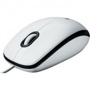МИШКА Logitech Mouse M100 White, EER Orient Packaging - 910-001605