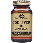 Solgar Cod Liver Oil Softgels - 100 capsules 250 units