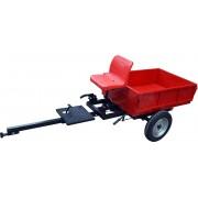 Remorca motocultor Rotakt REM450 PRO, capacitate 450-500 kg,