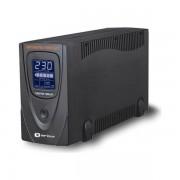 UPS Serioux, ProtectIT 650LS, 650VA, >12min back-up (half load), ecran LCD, negru SRXU-650LS (SERIOUX)