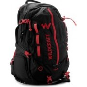 Wildcraft 14 inch Laptop Backpack(Red, Black)