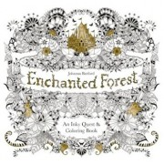 Enchanted Forest: An Inky Quest & Coloring Book, Paperback/Johanna Basford