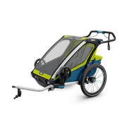 THULE Chariot Sport 2 - Chartreuse - Bike Trailers & Seats