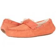 UGG Dakota Leather Bow Vibrant Coral