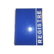 REGISTRU CU SPIRA LUX A4, 80 file (coperta carton plastifiat) Matematica A4 80 file Registru cartonat