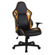 Dragon gamer fotel, vagy Racing gamer fotel mustársárga-fekete színben