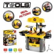 Set Unelte Banc de Scule Atelier Jucarie Bricolaj Power Tool 008912
