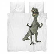 Snurk Dinosaurus Rex dekbedovertrek Snurk-2-persoons 200 x 220 cm incl. 2 kussenslopen 60 x 70 cm