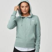 Myprotein Sweat-shirt zippé Tru-Fit - S - Soft Khaki Marl