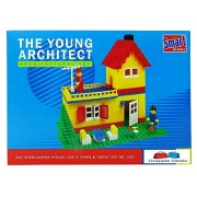 GRAPPLE DEALS Smart Blocks The Young Architect Set - Interlocking Architectural Set For Kids.(Multicolor)