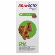 Bravecto for Medium Dogs 22 to 44lbs (Green) 1 Chew