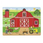 Puzzle Sonor Ferma Animalelor - Melissa And Doug