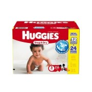 Baby Diaper Huggies Snug Dry Tab Closure Size 3 Disposable Qty 216