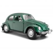 Maisto Schaalmodel Volkswagen Kever groen 1:24