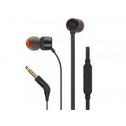 Słuchawki JBL T110 przewodowe z mikrofonem czarne