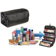 Manogyam Roll-n-Go Jewellery & Cosmetics Organiser & Storage Travel Bag Travel Toiletry Kit(Multicolor)