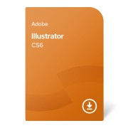 Adobe Illustrator CS6 GER ESD (ADB-IL-CS6-DE) електронен сертификат