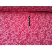 Pamut jersey textil rugalmas 170 cm széles - pink csíkos