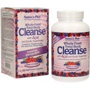 Nature's Plus Whole Food Total Body Cleanse - 168 Kapseln