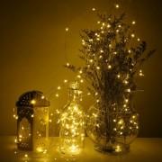 Vánoční svítící řetěz s 200 LED diodami