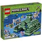Set de constructie LEGO Minecraft Monumentul din Ocean