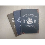 Notebook 24 file motive Navy Nautical Heritage