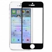 Tempered Glass - Folie protectie sticla securizata iPhone 5 / 5S / 5C - Black aluminium