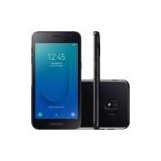 Smartphone Samsung Galaxy J2 Core Preto 16gb Android 8.1 Tela 5 Câmera 8mp- Claro