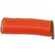 Tubo aria compressa spirale/spiralato in PVC ad innesto rapido 8m