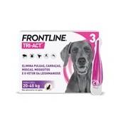 Tri-act para cães dos 20 aos 40kg 3pipetas - Frontline