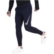 Nike Navy Polyester Running Trackpants For Men