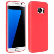 forcell Capa Forcell Soft Touch de Silicone Vermelha para Samsung Galaxy S7 Edge