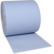 ZVG Zellstoff-Vertriebs-GmbH & Co. KG zetPutz Multiclean® Putztuchrolle, 3-lagig, blau, 1 Rolle = 1000 Abrisse à 35 cm/37 cm breit, 1 Paket = 1 Rolle