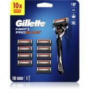 Gillette Fusion5 Proglide Aparat de ras + rezervă lame 10 buc