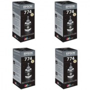 Original Epson Black Ink Pack of 4 (T7741)