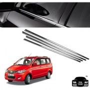 Trigcars Chevrolet Enjoy Car Window Lower Chrome Garnish