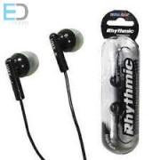 Ultra Max Rhythmic fekete fülhallgató 1,2 m vezeték