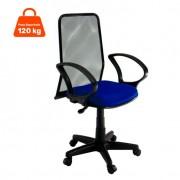 Cadeira de Escritório Giratória Diretor Azul