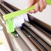 DIY Crafts Long-handle Groove Gap Cleaning Brush with Groove Dust Shovel and Dirt Scraper Stains Decontamination Squeegees(Pack of 4 Pcs)