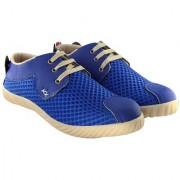 Blinder Men's Mesh Trendy Royal Blue casual sneakers shoes