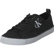 Calvin Klein Jeans Dora Canvas Black, Skor, Sneakers & Sportskor, Låga sneakers, Svart, Dam, 35