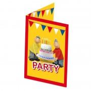 Buurman en Buurman 8x Buurman en Buurman themafeest uitnodigingen/kaarten