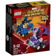 Lego Klocki LEGO Super Heroes Mighty Micros: Wolverine kontra Magneto 76073