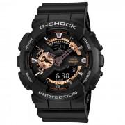 modelo de color especial genuino casio g-shock GA-110RG-1ADR reloj analogico-digital de oro rosa-negro